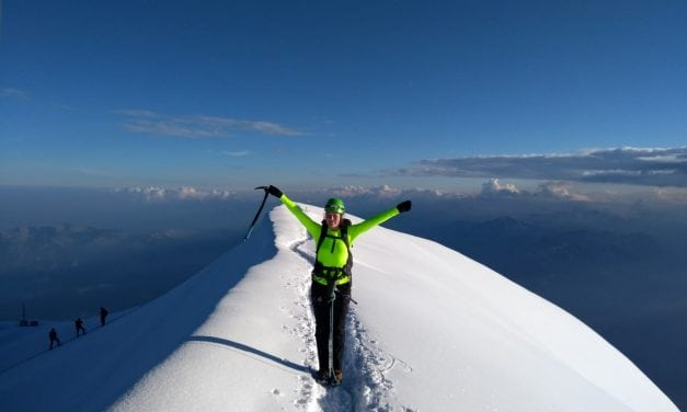 Grand Paradiso and Mont Blanc climbing video