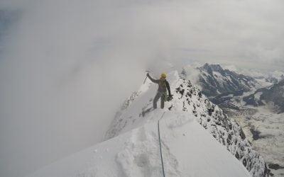 Traverse of the Eiger – Mittellegi ridge