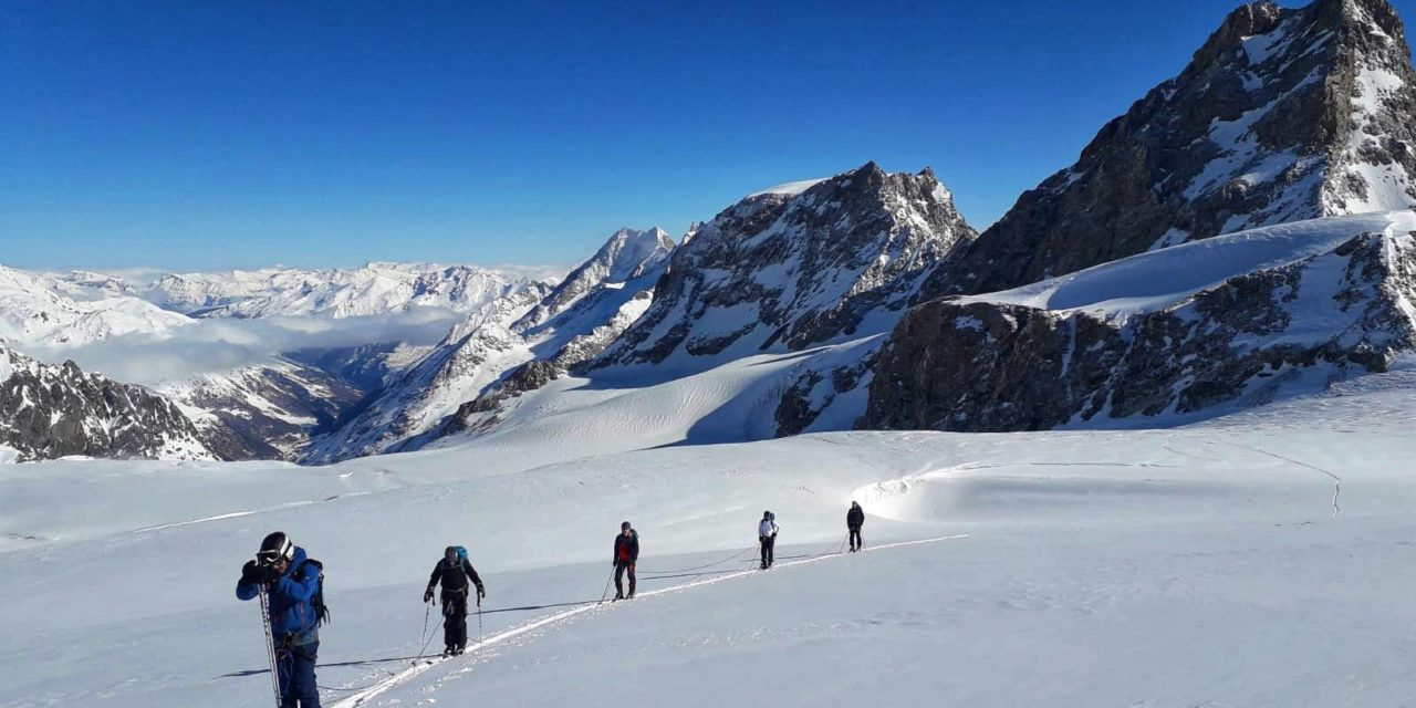 Sunshine and heat on the Haute Route – 2019