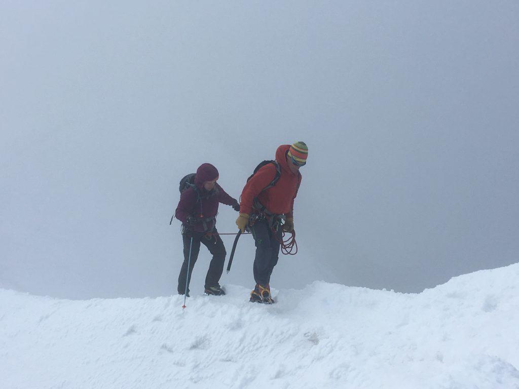 Climbing the Weissmies