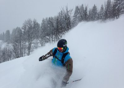 Off Piste Skiing – Combloux