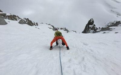 Advanced Mountaineering course – & Chamonix Conditions