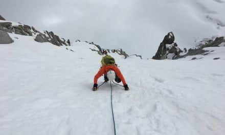 Advanced Mountaineering course – & Chamonix Conditions