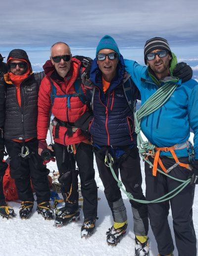 Mont Blanc Gouter Route