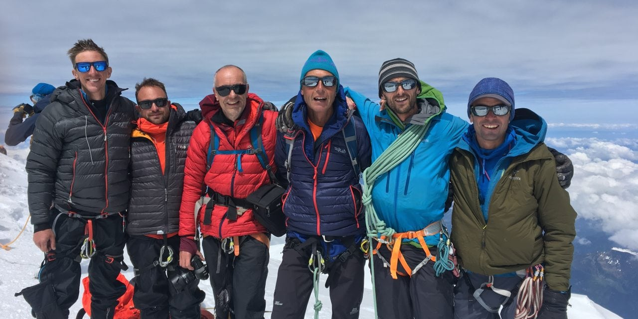 Mont Blanc video – The Gouter route
