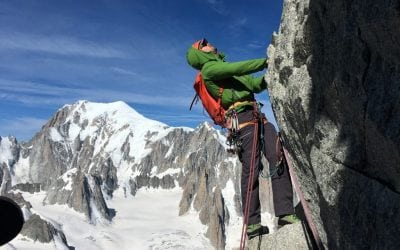 An action packed four days of Chamonix climbing