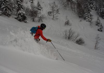 Off Piste Skiing – Brevant/Flegere