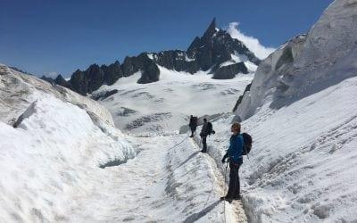 Grand Paradiso, Mont Blanc and Rock Climbing