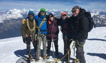 Team Devon conquer Mont Blanc