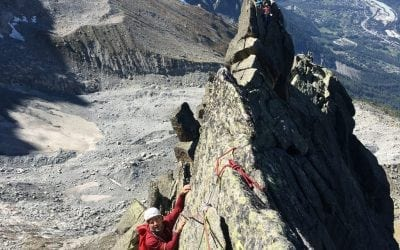 A transition in into autumn climbing – Chamonix