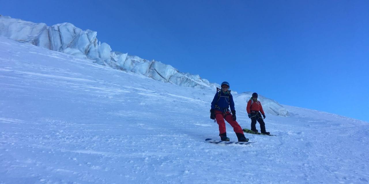 Blue skies and hard snow – Chamonix ski conditions