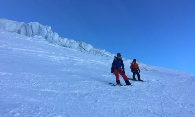 Blue skies and hard snow – Chamonix ski conditions