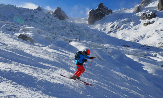 Cold & Sunny on the Vallee Blanche