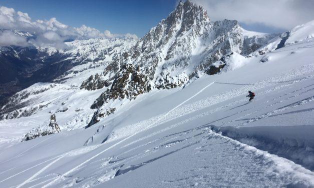 Ski Mont Blanc conditions – April 2019