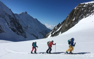 Two days of classic spring ski mountaineering