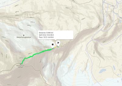 Hornli Ridge GPS Track