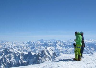 Mont Blanc – Normal (Gouter) Route PD