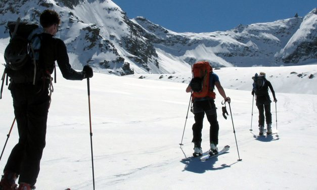 Chamonix – Italy Ski touring trip April 2017